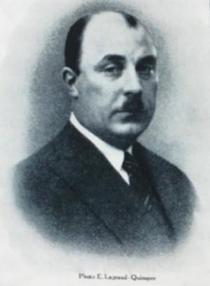 Portrait de François Bazin
