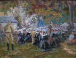 Procession en Bretagne par Arthur Midy