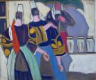 Jour de marché à Pont l'Abbé par Pierre de Belay