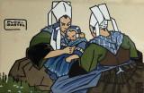 Femmes de Plougastel au pardon par Géo-Fourrier