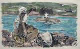 Pour retrouver le corps d'un noyé par Méheut