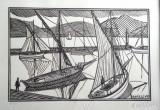 Le port par René Quillivic