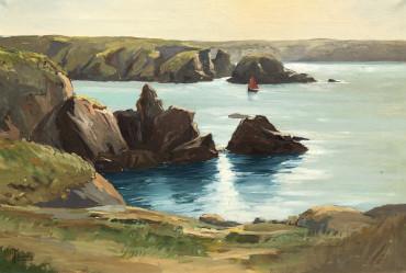 La pointe de Goulphar à Belle-île par Jean Marec