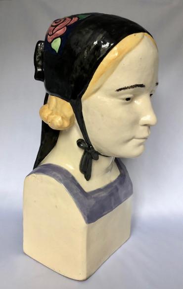 Buste d'une jeune fille de Plougastel par Porson